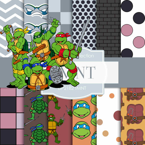 TMNT Digital Paper DP2182 - Digital Paper Shop - 1