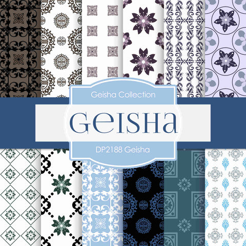 Geisha Digital Paper DP2188 - Digital Paper Shop - 1