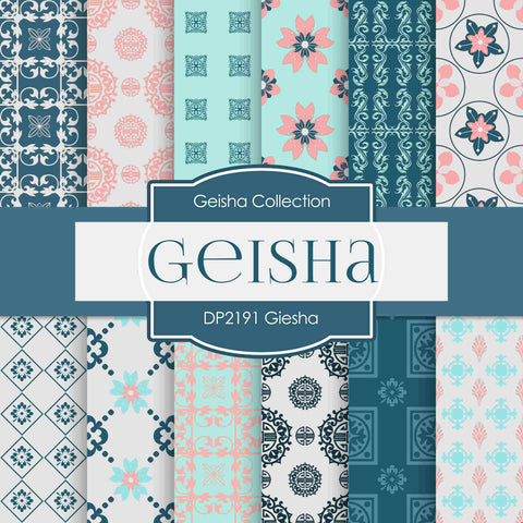 Geisha Digital Paper DP2191 - Digital Paper Shop - 1