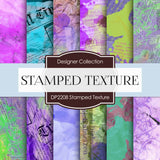 Stamped Texture Digital Paper DP2208 - Digital Paper Shop - 1