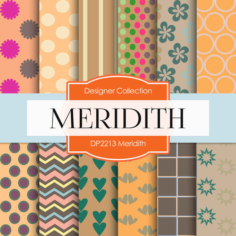 Meridith Digital Paper DP2213 - Digital Paper Shop - 1