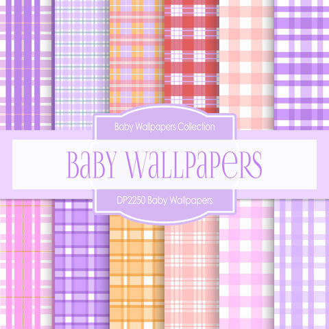 Baby Wallpapers Digital Paper DP2250 - Digital Paper Shop - 1