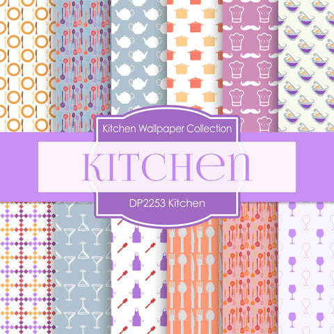 Kitchen Digital Paper DP2253 - Digital Paper Shop - 1