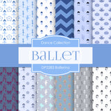 Ballerina Digital Paper DP2283 - Digital Paper Shop - 1