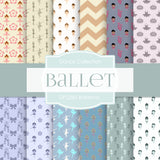 Ballerina Digital Paper DP2285 - Digital Paper Shop - 1