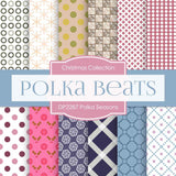 Polka Seasons Digital Paper DP2287 - Digital Paper Shop - 1