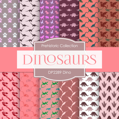 Dino Digital Paper DP2289 - Digital Paper Shop - 1