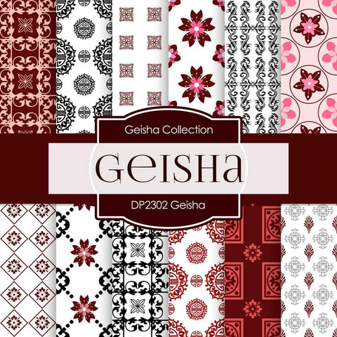 Geisha Digital Paper DP2302 - Digital Paper Shop - 1