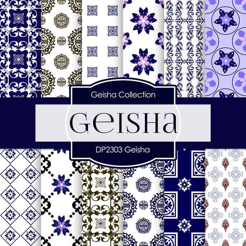 Geisha Digital Paper DP2303 - Digital Paper Shop - 1