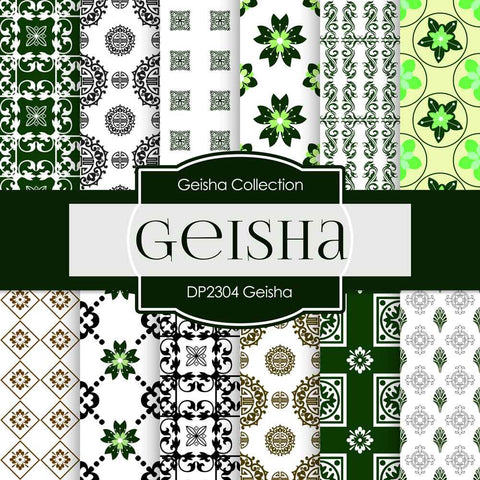 Geisha Digital Paper DP2304 - Digital Paper Shop - 1