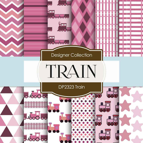 Train Digital Paper DP2323 - Digital Paper Shop - 1