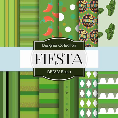 Fiesta Digital Paper DP2326 - Digital Paper Shop - 1