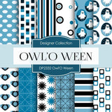 Owl' O Ween Digital Paper DP2332 - Digital Paper Shop - 1