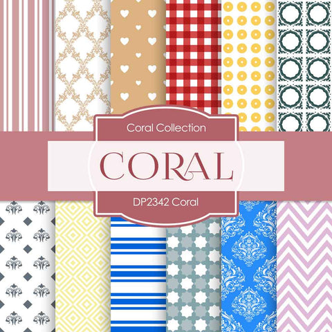 Coral Digital Paper DP2342 - Digital Paper Shop - 1