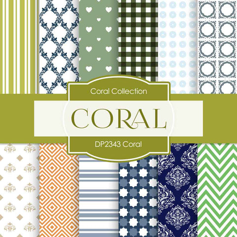 Coral Digital Paper DP2343 - Digital Paper Shop - 1