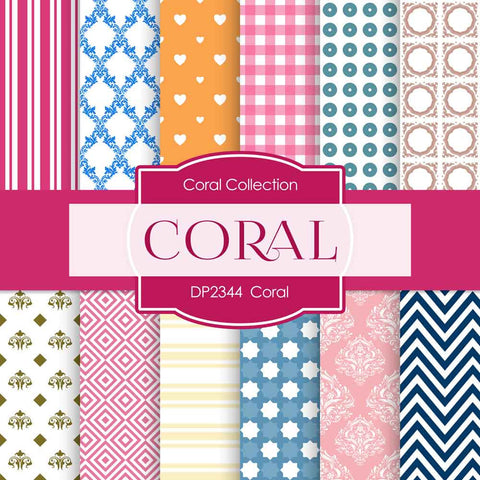 Coral Digital Paper DP2344 - Digital Paper Shop - 1
