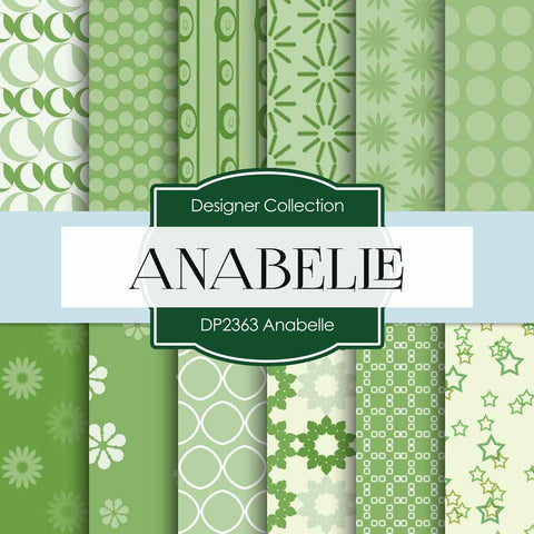 Anabelle Digital Paper DP2363 - Digital Paper Shop - 1