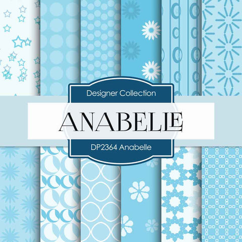Anabelle Digital Paper DP2364 - Digital Paper Shop - 1