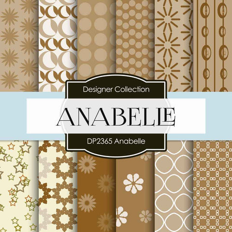 Anabelle Digital Paper DP2365 - Digital Paper Shop - 1