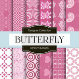 Butterfly Digital Paper DP2377 - Digital Paper Shop - 1