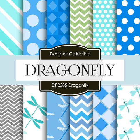 Dragonfly Digital Paper DP2385 - Digital Paper Shop - 1