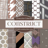 Construction Crew Digital Paper DP2405 - Digital Paper Shop - 1