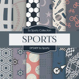 So Sporty Digital Paper DP2409 - Digital Paper Shop - 1