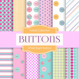 Bright Buttons Digital Paper DP240 - Digital Paper Shop - 1
