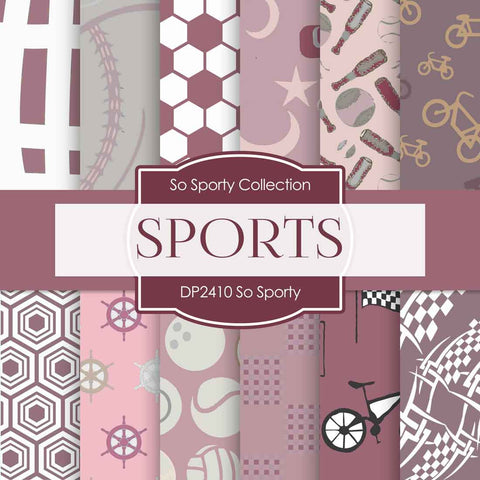 So Sporty Digital Paper DP2410 - Digital Paper Shop - 1