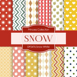 Snow White Digital Paper DP2476 - Digital Paper Shop - 1