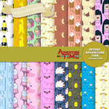 Adventure Time Digital Paper DP2585 - Digital Paper Shop - 1