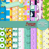 Adventure Time Digital Paper DP2587 - Digital Paper Shop - 1