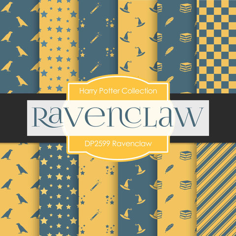 Ravenclaw Digital Paper DP2599 - Digital Paper Shop - 1