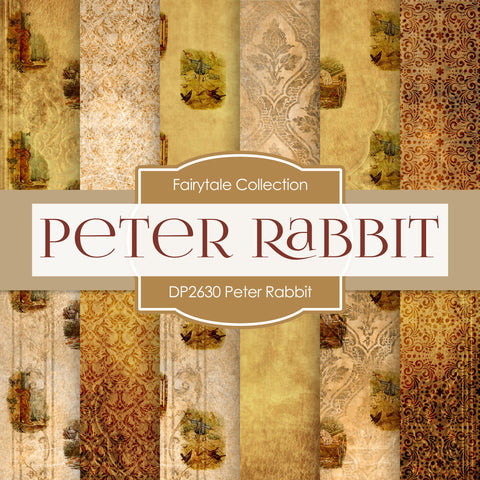 Peter Rabbit Digital Paper DP2630 - Digital Paper Shop - 1