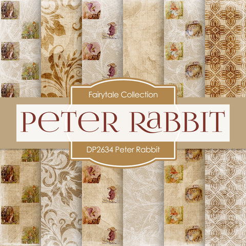Peter Rabbit Digital Paper DP2634 - Digital Paper Shop - 1