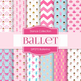 Ballerina Digital Paper DP272 - Digital Paper Shop - 1