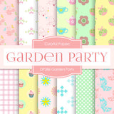 Garden Party Digital Paper DP286 - Digital Paper Shop - 1