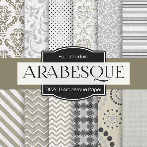 Arabesque Paper Digital Paper DP2910 - Digital Paper Shop - 1