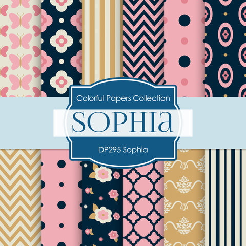 Sophia Digital Paper DP295 - Digital Paper Shop - 1