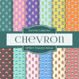 Chevron Arrows Digital Paper DP3011 - Digital Paper Shop - 1