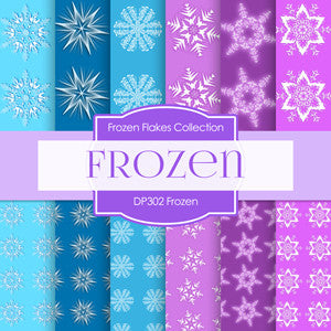 Frozen Digital Paper DP302 - Digital Paper Shop - 1