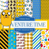 Adventure Time Digital Paper DP3021 - Digital Paper Shop - 1