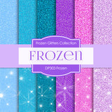Frozen Digital Paper DP303 - Digital Paper Shop - 1