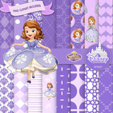 Sofia The First Digital Paper DP3037A - Digital Paper Shop - 1