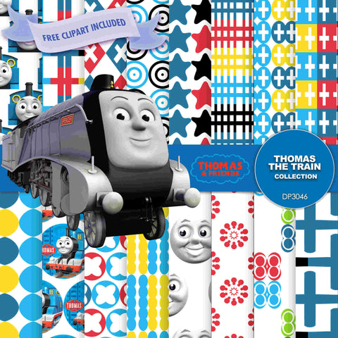 Thomas the Train Digital Paper DP3046 - Digital Paper Shop - 1