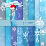 Frozen Digital Paper DP3051 - Digital Paper Shop - 1