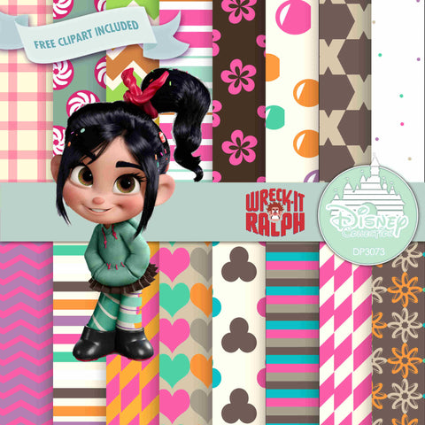 Vanellope Digital Paper DP3073 - Digital Paper Shop - 1