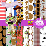 Toy Story Digital Paper DP3089 - Digital Paper Shop - 1