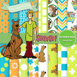 Scooby Doo Digital Paper DP3097 - Digital Paper Shop - 1