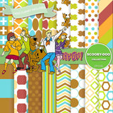 Scooby Doo Digital Paper DP3100 - Digital Paper Shop - 1